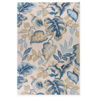 KAS Coral Exotics 5-Foot x 7-Foot 6-Inch Area Rug in Ivory