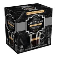 Cafe Turino 60-Count Ristretto Espresso for Single Serve Coffee Makers