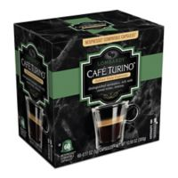 Cafe Turino 60-Count Lombary Espresso for Single Serve Coffee Makers