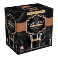 Cafe Turino 60-Count Liguria Espresso for Single Serve Coffee Makers