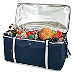 Picnic at Ascot Bold Collection 72-Can Folding Cooler in Navy