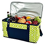 Picnic at Ascot Trellis Collection 72-Can Folding Cooler in Green