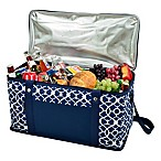 Picnic at Ascot Trellis Collection 72-Can Folding Cooler in Blue
