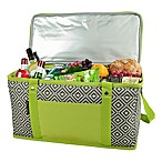 Picnic at Ascot Diamond Collection 72-Can Folding Cooler in Granite