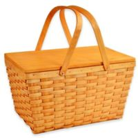 Picnic at Ascot Overland Picnic Basket in Honey