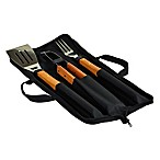Picnic at Ascot 3-Piece Stainless Steel BBQ Set with Case