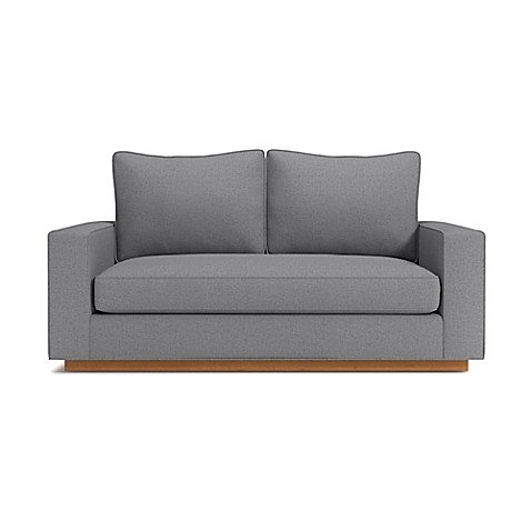 image of Kyle Schuneman for Apt2B Harper Mini Apartment Sofa with Pecan Base