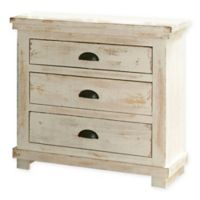 Willow Nightstand in Distressed White