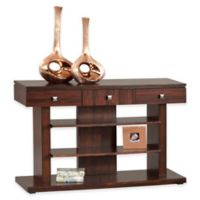 Le Mans Mozambique Console Table in Brown