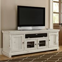 Willow 74-Inch Console in Distressed White