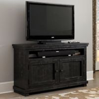 Willow 54-Inch Console in Distressed Black