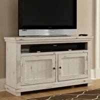 Willow 54-Inch Console in Distressed White