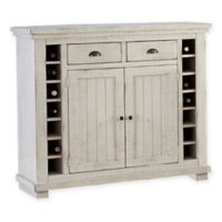 Willow Server in Distressed White