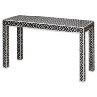 Evelyn Console Table in Mother of Pearl