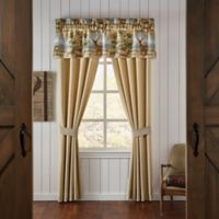 Croscill® Cold Springs Pole Top 84-Inch Window Curtain Panel Pair in Brown