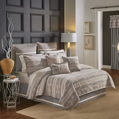 croscill ansonia king comforter set in grey