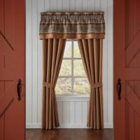 Croscill® El Capitan Pole Top 84-Inch Window Curtain Panel Pair in Gold