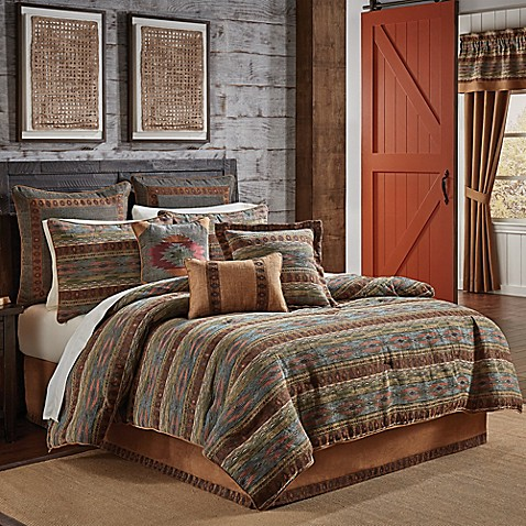 Croscill 174 El Capitan Comforter Set Bed Bath Amp Beyond