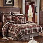 Croscill® Kent King Comforter Set in Red/Brown