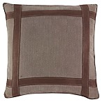 Croscill® Kent European Pillow Sham in Brown