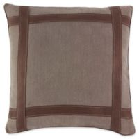 Croscill® Kent European Pillow Sham in Brown