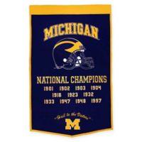University of Michigan National Champions Dynasty Banner