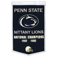 Penn State University National Champions Dynasty Banner