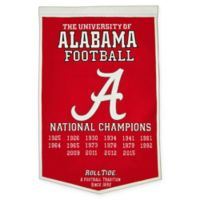 University of Alabama National Champions Dynasty Banner