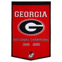 Georgia Tech National Champions Dynasty Banner