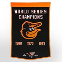 Baltimore Orioles World Series Championship Banner