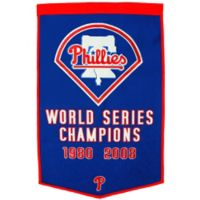 Philadelphia Phillies World Series Championship Banner