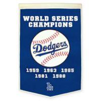 Los Angeles Dodgers World Series Championship Banner
