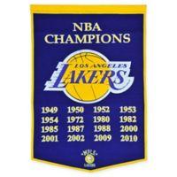 NBA Los Angeles Lakers Heritage Banner