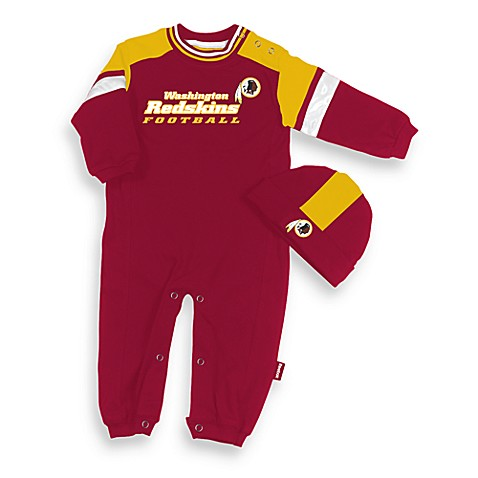 Official Nfl Washington Redskins Coverall By Reebok Size