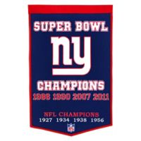 NFL New York Giants Dynasty Banner