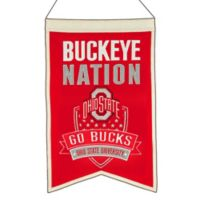 "Ohio State University of ""Buckeye Nation"" Banner"