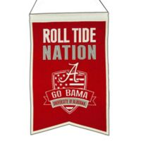 "University of Alabama ""Crimson Tide Nation"" Banner"