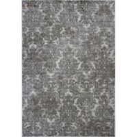 KAS Provence 7-Foot 10-Inch x 11-Foot 2-Inch Damask Rug in Ivory/Sand
