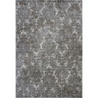 KAS Provence 3-Foot 3-inch x 4-Foot 7-Inch Damask Accent Rug in Ivory/Sand