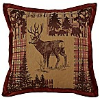 Croscill® Glendale Square Throw Pillow in Red