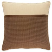 Croscill® Cold Springs European Pillow Sham in Brown