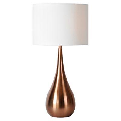 Pandora Table Lamp In Copper