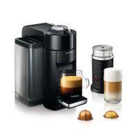 Nespresso® by DeLonghi Vertuo Coffee Maker with Aeroccino in Black