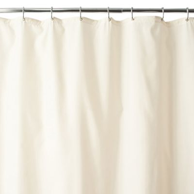 Product Image For Wamsutta® Fabric Shower Curtain Liner With Suction Cups