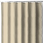 Wamsutta® 70-Inch x 72-Inch Fabric Shower Curtain Liner with Suction Cups in Linen