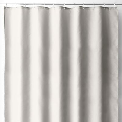 Wamsutta® 70 Inch X 72 Inch Fabric Shower Curtain Liner With Suction Cups