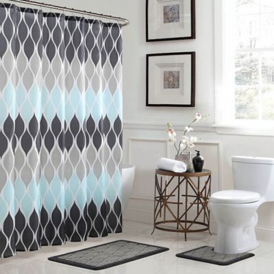 Buy Shower Curtain with Bath Set Collections from Bed Bath & Beyond