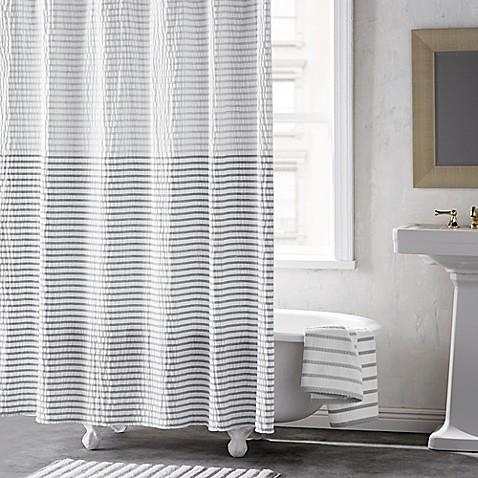 DKNY Parsons Stripe Shower Curtain - Bed Bath & Beyond