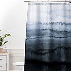 Deny Designs Monika Strigel Within the Tides Stormy Weather Standard Shower Curtain