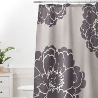 DENY Designs Caroline Okun Winter Peony Standard Shower Curtain